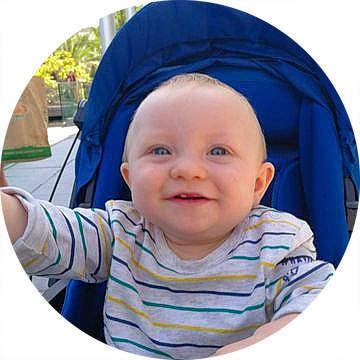bebe 8 mois